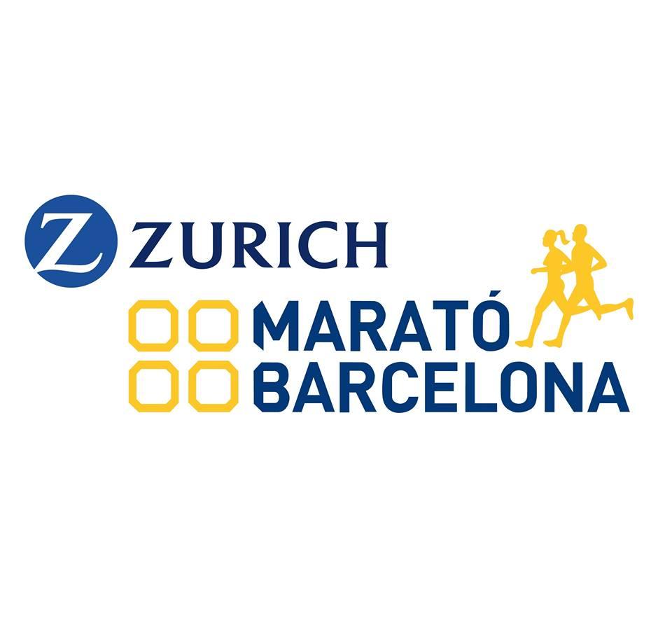 logo zurich maraton de barcelona febrero 2019